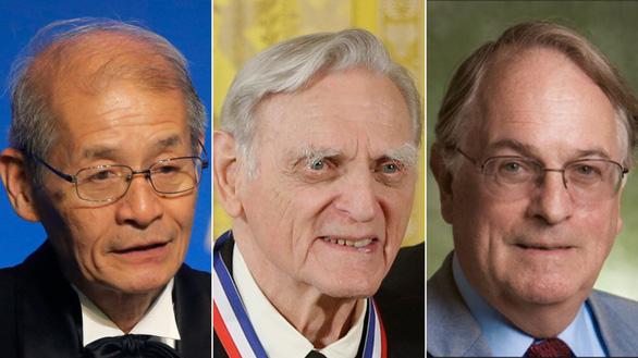 Ba nhà khoa học Đức, Anh và Nhật