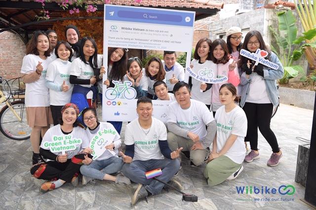 Các thành viên của cộng đồng Green e-Bike Vietnam