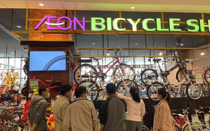 Xe đạp trợ lực điện Wiibike được bán tại tất cả các siêu thị AEON MALL toàn quốc.