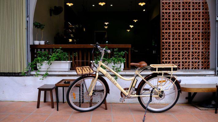 Xe đạp trợ lực điện dạo phố cho nữ Wiibike Summer