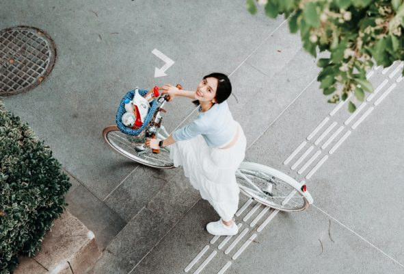 Xe đạp trợ lực điện cho nữ - Wiibike